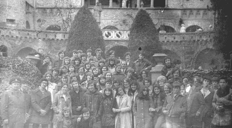 1977г.экскурсия по окрестностям Будапешта ЮГВ школа