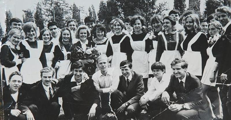 10 класс 1973 год Будапешт, ЮГВ