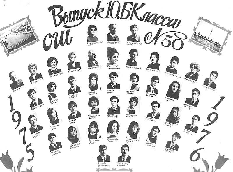 1976 год 10 Б, Будапешт ЮГВ