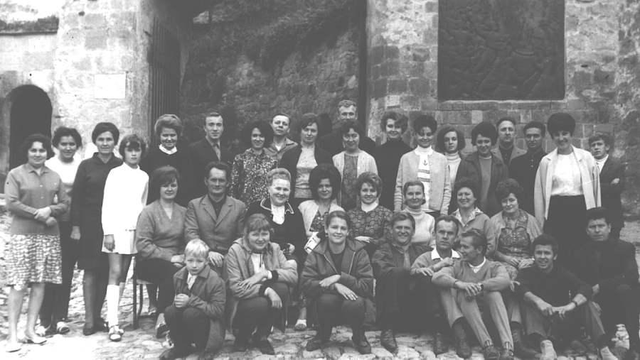 1974 год экскурсия в Эгер, ЮГВ