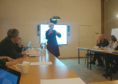 Встреча членов Клуба в ТПП Латвии