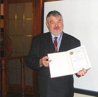 П. Баранай награжден медалью Клуба