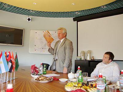 Заседание Правления Клуба 20.08.2009 года