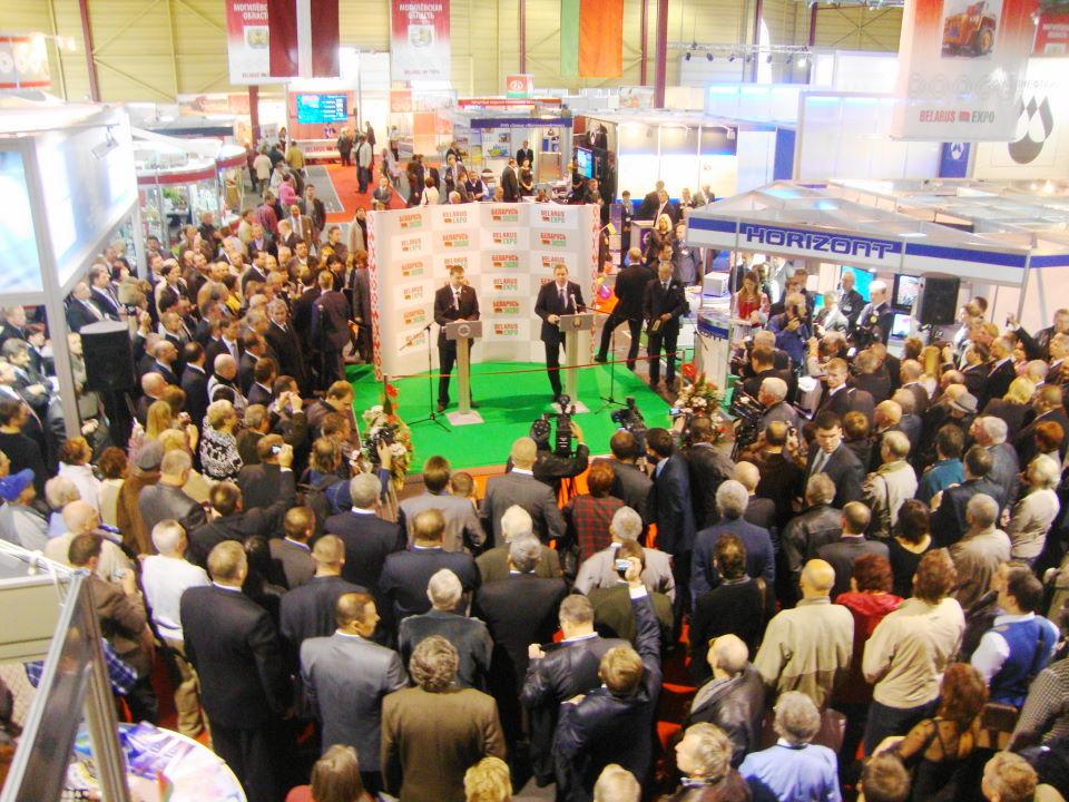 Открытие выставки Belarus Expo 2010 в Риге