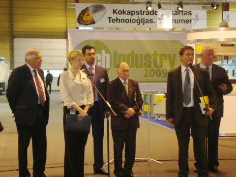 Выставка Tech Industry 2009