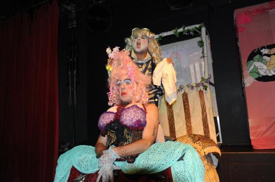 Эротический театр петербург пробовали